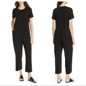 NWT Eileen Fisher Stretch Tencel Lyocell Jumpsuit